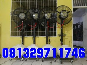 Sewa misty Cooling fan, kipas anginkabut embun air misty cool